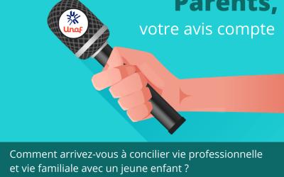 Questionnaire conciliation auprès des familles